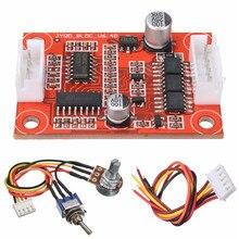 Плата контроллера бесщеточного двигателя постоянного тока 7,5 в 18 в 30 Вт, Комплект «сделай сам» для двигателя жесткого диска/насоса с превышением тока
