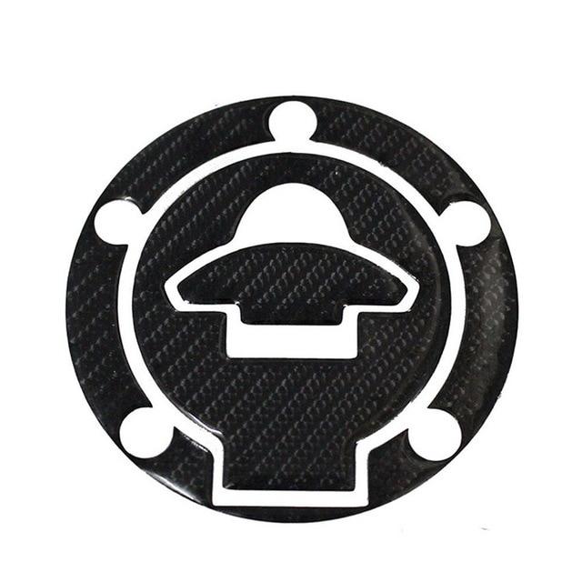 $ 14.44 New 3D Carbon Fiber Gas Cap Tank Cover Pad Sticker For YAMAHA R15 R25 R3