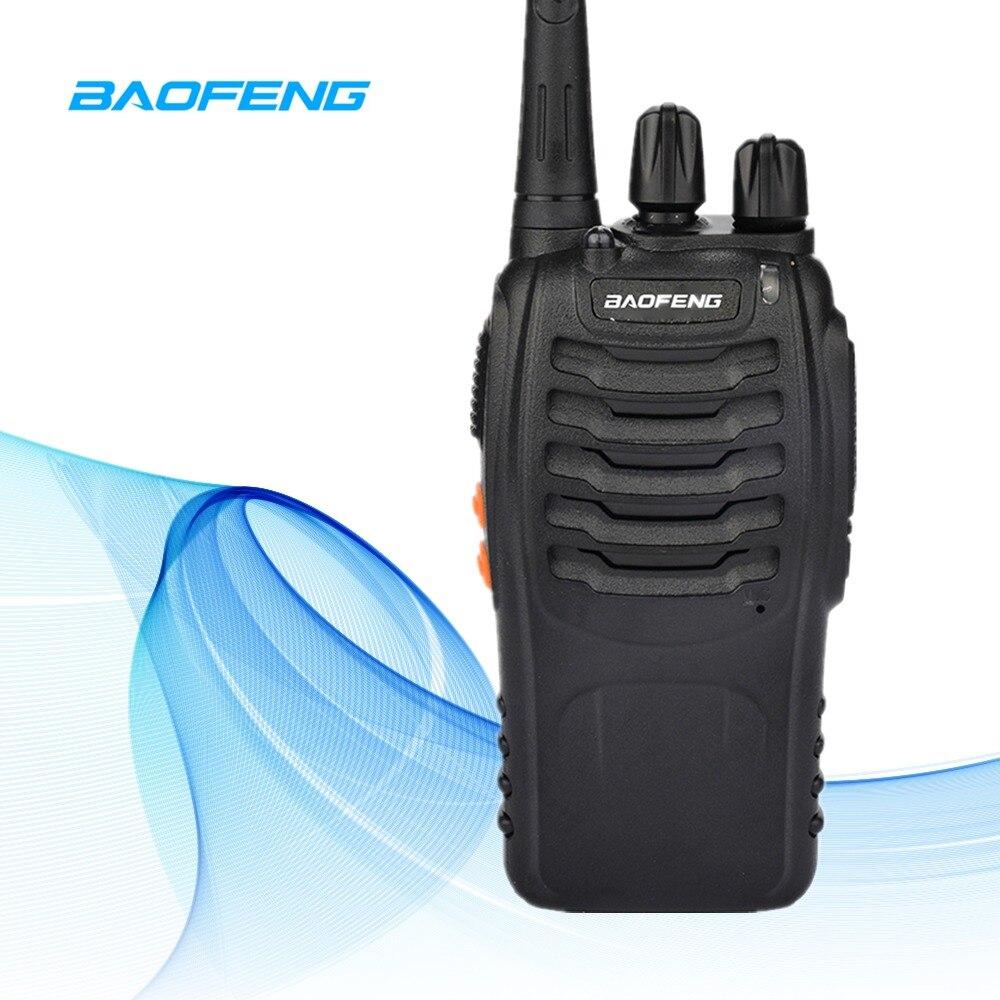 6 km BF-888S Walkie Talkie Baofeng 888 s 5 w 16 Canali 400-470 mhz UHF FM Ricetrasmettitore way Radio Comunicador Per Da Corsa All'aperto