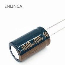 22 قطعة/الوحدة S62 عالية التردد مقاومة منخفضة 100v 1000 فائق التوهج الألومنيوم مُكثَّف كهربائيًا حجم 18*30 1000 فائق التوهج 20%