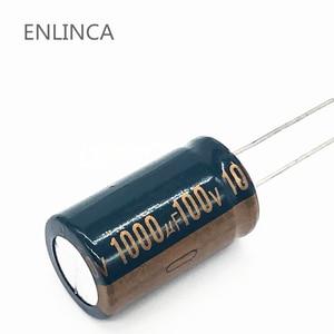 Image 1 - 22 шт./лот S62 высокочастотный электролитический конденсатор с низким сопротивлением 100 в 1000 мкФ, алюминиевый электролитический конденсатор размером 18*30 1000 мкФ 20%