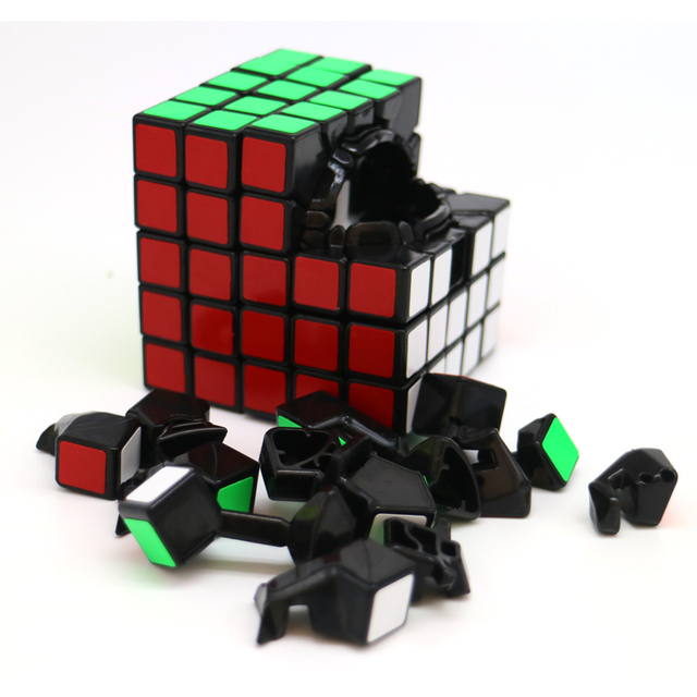 Magic Speed Cube Black Professional Speed Cubes Migico Puzzle Speed Cube Challenge Gifts Educational Learning Child Toys