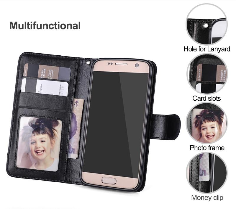 Samsung Galaxy S7 Edge Case- ի շարժական կաշվե - Բջջային հեռախոսի պարագաներ և պահեստամասեր - Լուսանկար 2