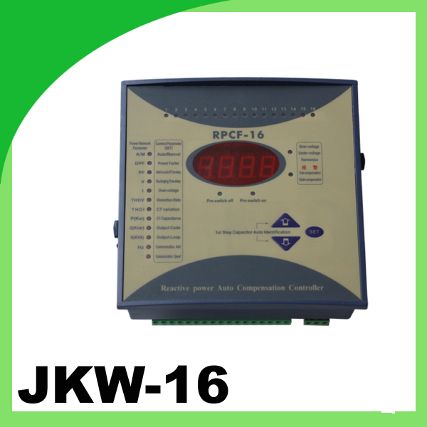 JKW-16 RPCF thyristor power regulator factor compensator digital power factor meter 12step 380v весы jkw 40 x 10 g dps1
