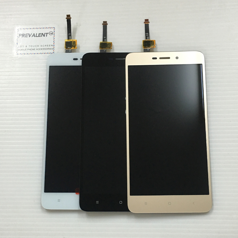 For Xiaomi Redmi 4A Touch Screen Panel Digitizer Sensor Glass + LCD Display Monitor Panel Module Assembly