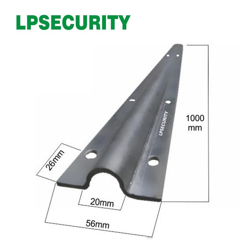 LPSECURITY 4m per pack steel rail track for sliding gate opener motor