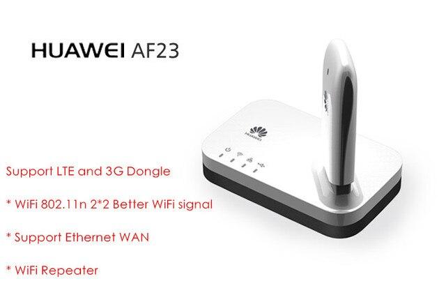 4 Г LTE/3 Г USB Обмен Док Маршрутизатор HUAWEI AF23 Ethernet Wi-Fi Точки Доступа