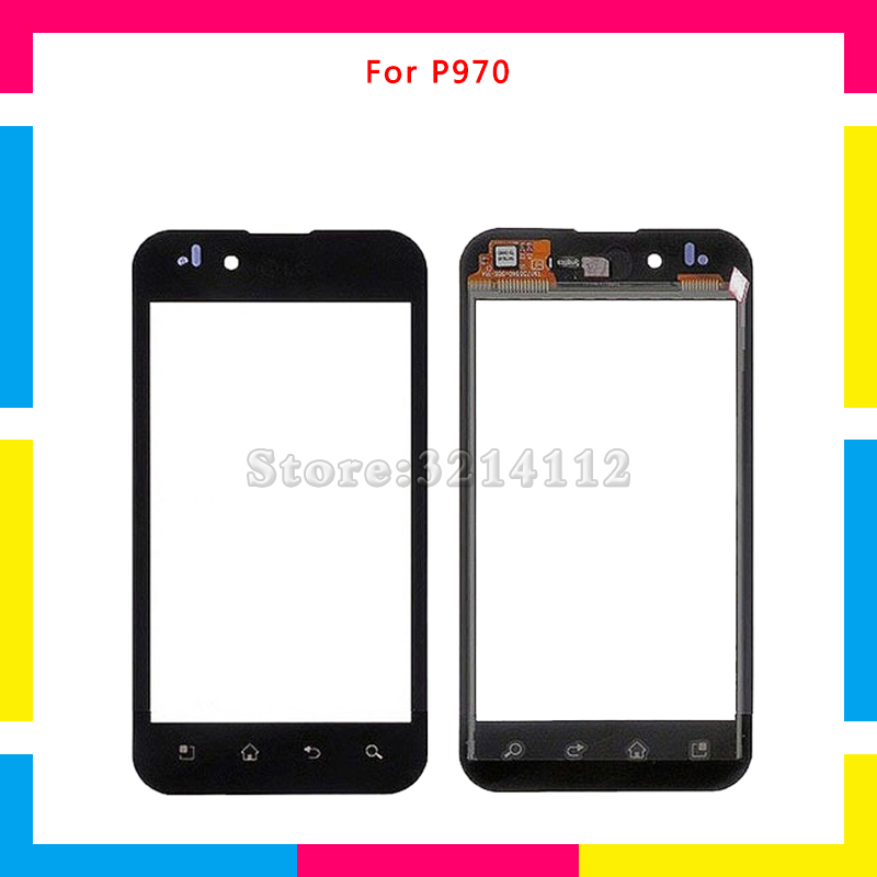 Replacement Touch Screen Digitizer Sensor Outer Glass Lens Panel For LG Optimus P970 Black Or White