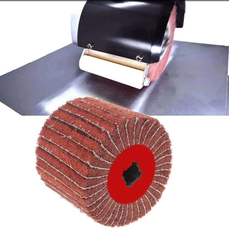 Non-woven Abrasive Emery Nylon Round Grinding Buffing Polishing Striping Wheel-M18