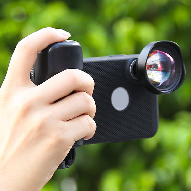 Selfie Booster Handle Grip Wireless Camera Shutter Bluetooth Remote Control Phone Selfie Assistant For IPhone X Huawei Samsung