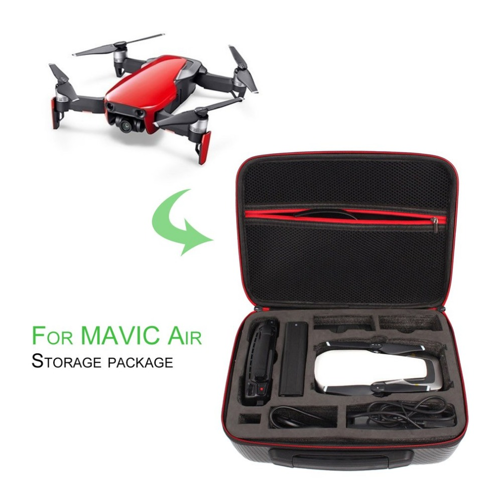 Compact Size Safety Storage Bag Handbag Waterproof Carrying Case Box With Handle Suitable for DJI MAVIC Air