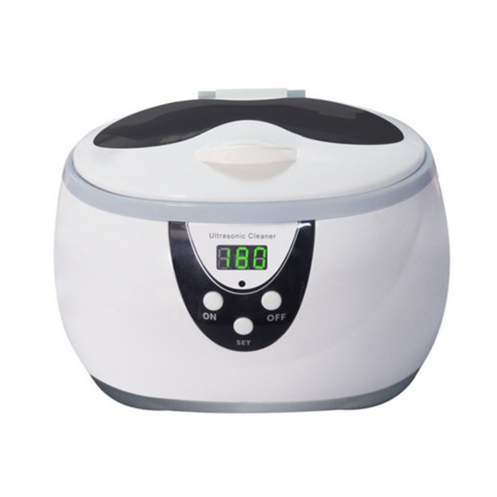 Multi-function Ultrasonic Cleaning Machine JP-3800S With 600ML Cleaner Machine For Cleaning Baby Items Eyeglasses Watches Rings multi function 35w ultrasonic cleaner grey 600ml