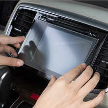 155mm*91mmTempered Glass Screen Protector For Car GPS Navigation Screen Protective Film Navigation LCD for Infiniti qx50 qcbxyyxh car styling gps navigation screen glass protective film for lexus nx 200 nx200t nx300 control lcd screen car sticker