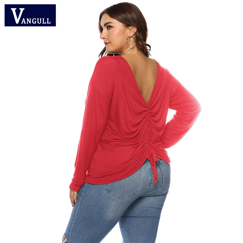5269ec2bb9 Clientes. Cuello Cintura De Tamaño Nueva Modal Vangull Red 2019 Primavera  Plisado Suave Verano Moda ...