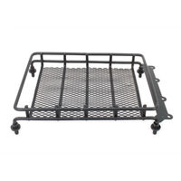 Metal Roof Luggage Rack For 1 10 RC Car Crawler Truck Body Shell Cover HSP Axial