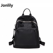 Jonlily Women's Oxford Waterproof backpack Bags Fashion Trend Leisure All-match Retro Travel Convenient Youthful Energy -GL160