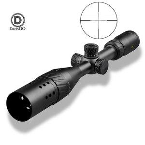 Image 1 - DDartsGO بندقية نطاق VT 1 3 12x44AOE التكتيكية البصر في الهواء الطلق الصيد 11 مللي متر 20 مللي متر السكك الحديدية جبل نطاقات للبندقية مسدس هواء مسدس هواء البصر
