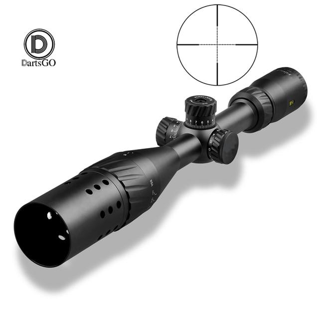 DDartsGO بندقية نطاق VT 1 3 12x44AOE التكتيكية البصر في الهواء الطلق الصيد 11 مللي متر 20 مللي متر السكك الحديدية جبل نطاقات للبندقية مسدس هواء مسدس هواء البصر