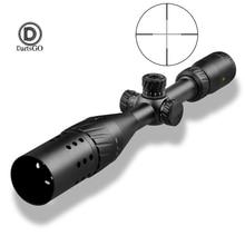 Ddartsgo rifle escopo VT 1 3 12x44aoe visão tática caça ao ar livre 11mm 20mm ferroviário montar escopos para rifle pistola de ar vista
