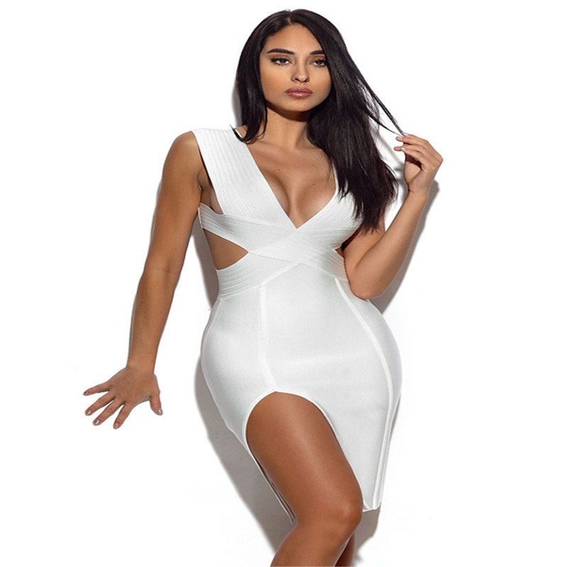 Leger Babe Women Bandage Dress 2018 Summer New Arrival Sexy ... 668ca4f99004