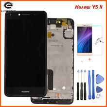 Huawei Y5 II LCD Display + Touch Screen 100% Tested Digitizer Assembly With Frame Replacement Huawei Y5 II / Y5 2 Y5II