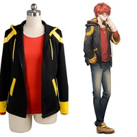 New Original Mystic Messenger 707 EXTREME Saeyoung/Luciel Choi 7 Outfit Cosplay Costume Jacket+ Shirt Anime Halloween Custom