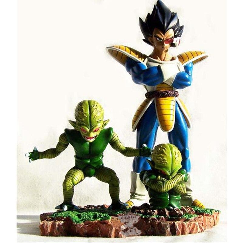 Dragon Ball Super Saiyan Son Goku Vegeta Large Doll Anime GK Statue PVC Action Figure Collection Model Toy M1796