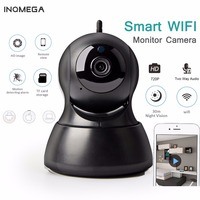 INQMEGA 720P IP Camera PTZ Surveillance Wireless Wifi Camera Home Security CCTV Camera Night Vision Two