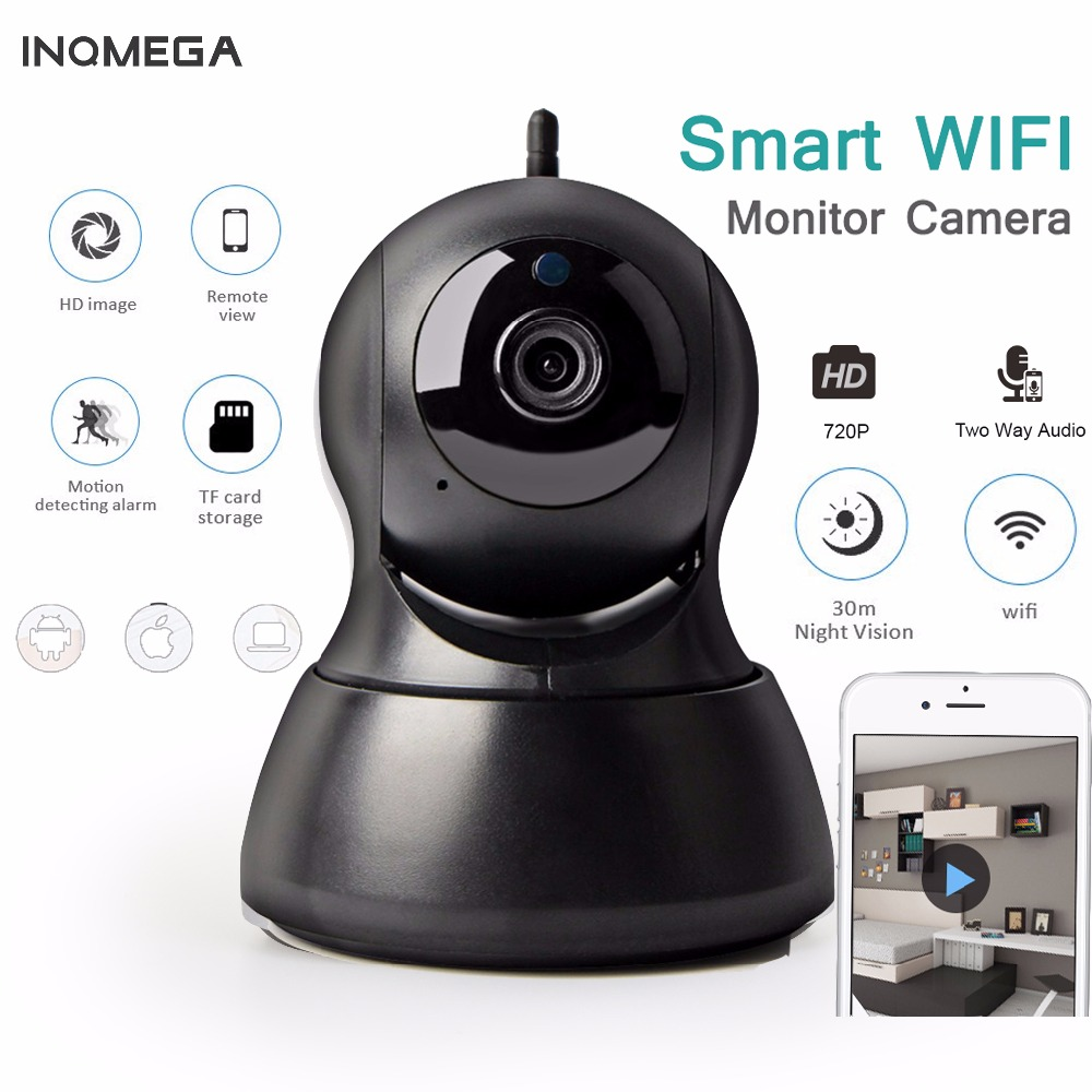 INQMEGA 720P IP Camera PTZ Surveillance Wireless Wifi Camera Home Security CCTV Camera  Night Vision Two Way Audio Baby Monitor sacam home security surveillance day night wifi ip camera hd 720p wireless webcam cctv cameras two way audio wide angle