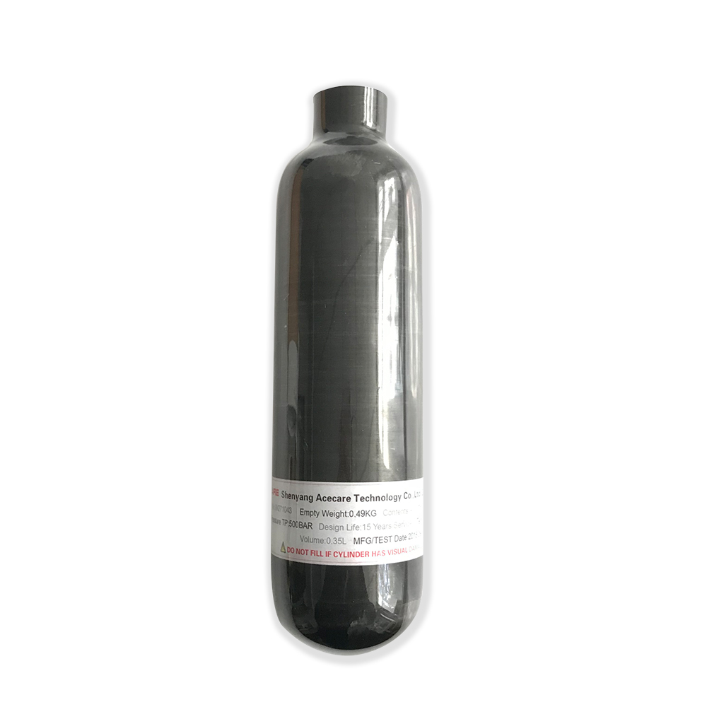 AC3035 Cylinder HPA Small 0.35L Hpa Paintball Compressed Air Gun Diving/aAr Rifle Hunting 5 5 Airforce Condor M18*1.5 Softgun