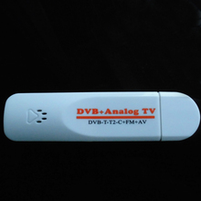 Digital Analog USB TV Stick Tuner Dongle with Antenna Remote HDTV Receiver