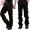 Camuflagem Nova 2016 Homens em geral de Algodão estilo Militar Do Exército Carga Camo pants Combate Calças táticas urbanas Casuais Calças moda masculina