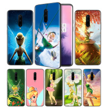 Tinkerbell Tinker bell Soft Black Silicone Case Cover for OnePlus 6 6T 7 Pro 5G Ultra-thin TPU Phone Back Protective