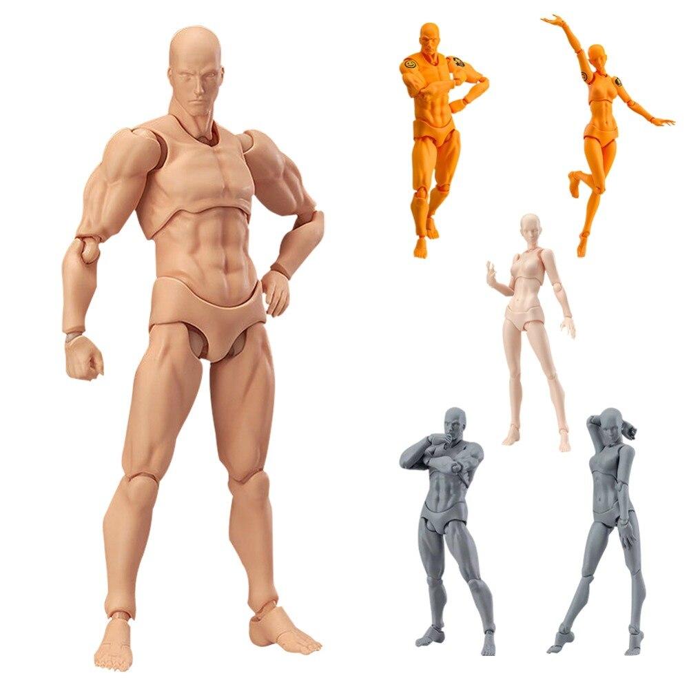 Figma Urform Nächsten Er Sie PVC Action Figure Sammlung Anime Modell Körper Spielzeug DIY Mann Weibliche Haut Farbe Abbildung Anime urform