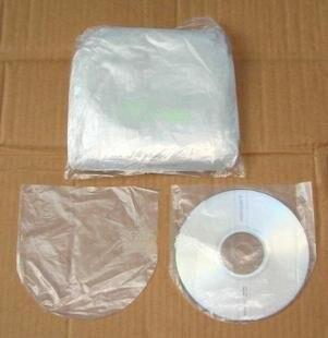 Beautiful 500Pcs Clear CD DVD Bag Cover Storage Case PP Sleeve Envelope Holder  Endocardial Pockets, Disk