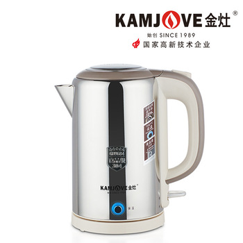 KAMJOVE electric kettle stainless steel insulation kettle electric kettle boil water automatic power-off protection function