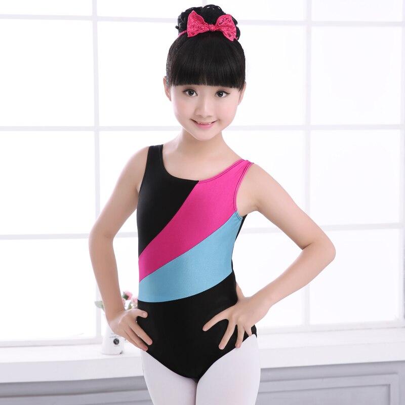 4a60095d1580 Girls Rhythmic Gymnastics Dance Leotard Shiny Spandex Ballet Leotards  Dancewear Toddler Kids Children Stretch Dance Bodysuit -in Ballet from  Novelty ...