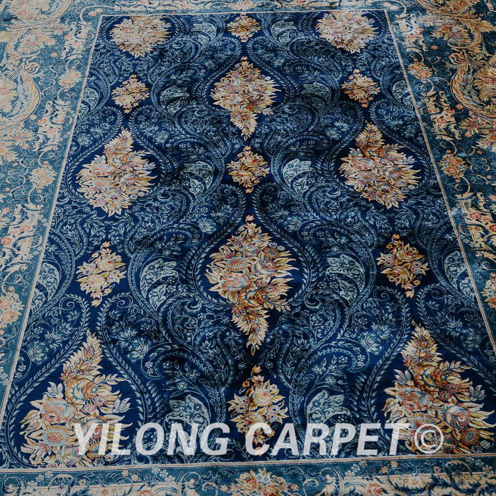 Yilong 5.6'x8 'Αντίκα χειροποίητο περσικό - Αρχική υφάσματα - Φωτογραφία 5