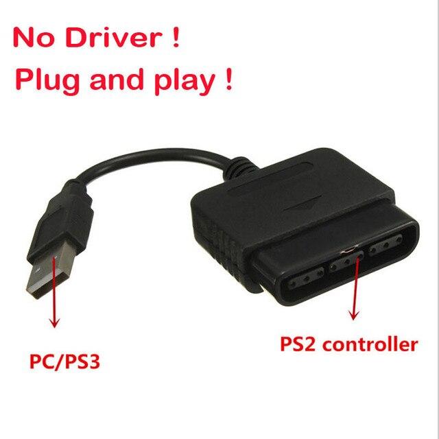 כולם חדשים For Sony PS1 PS2 PlayStation Dualshock 2 Joypad GamePad to 3 PS3 OL-02