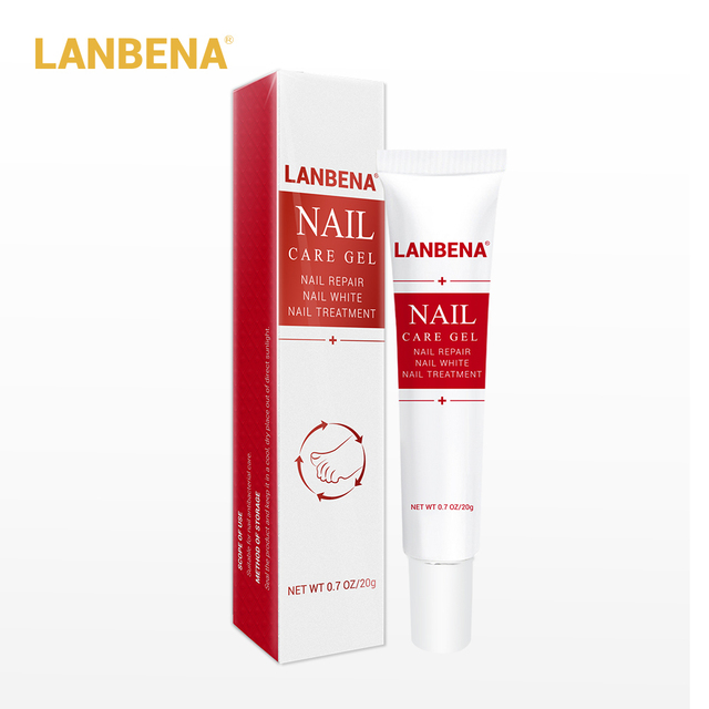 LANBENA Nail Care Gel Fungal Nail Treatment Remove Onychomycosis Nail Care Nourishing Effective against nail Hand And Foot Care