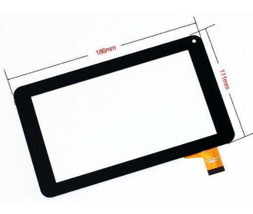 7New touch screen panel I-Joy DRACO V2 Tablet Digitizer Glass Sensor replacement Free Shipping