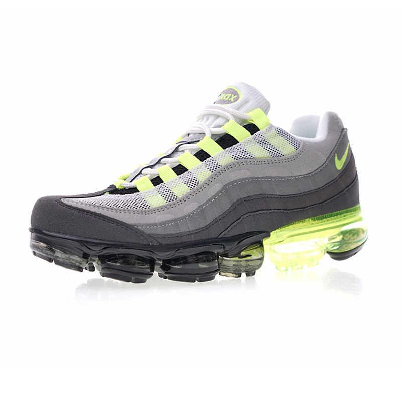 best service a676d 0dc4c ... Nike Air Vapormax 95 OG Men s Running Shoes , Grey   Green, Lightweight  Shock- ...