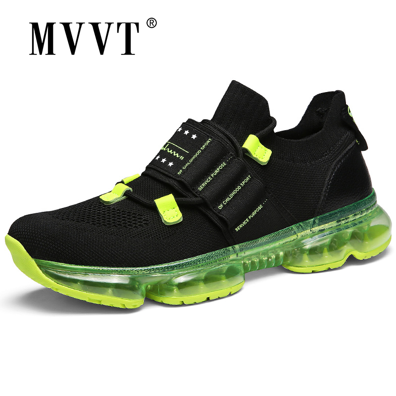 Air Sole Cushioning Running Shoes For Men Sneakers Versatile Urban Sport Shoes Men Fly-Wire Athletic Shoes