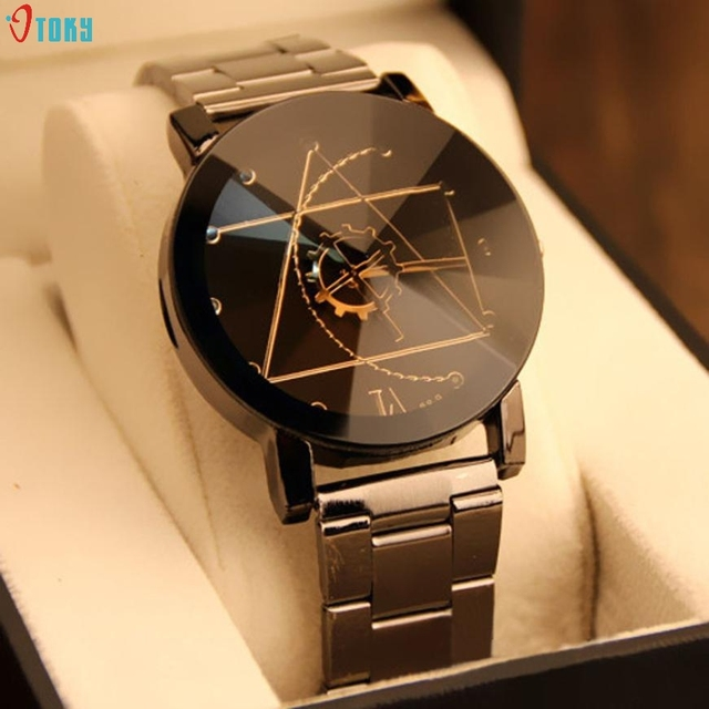 OTOKY New Fashion Women Wristwatches Stainless Steel Woman Quartz Analog Wrist W