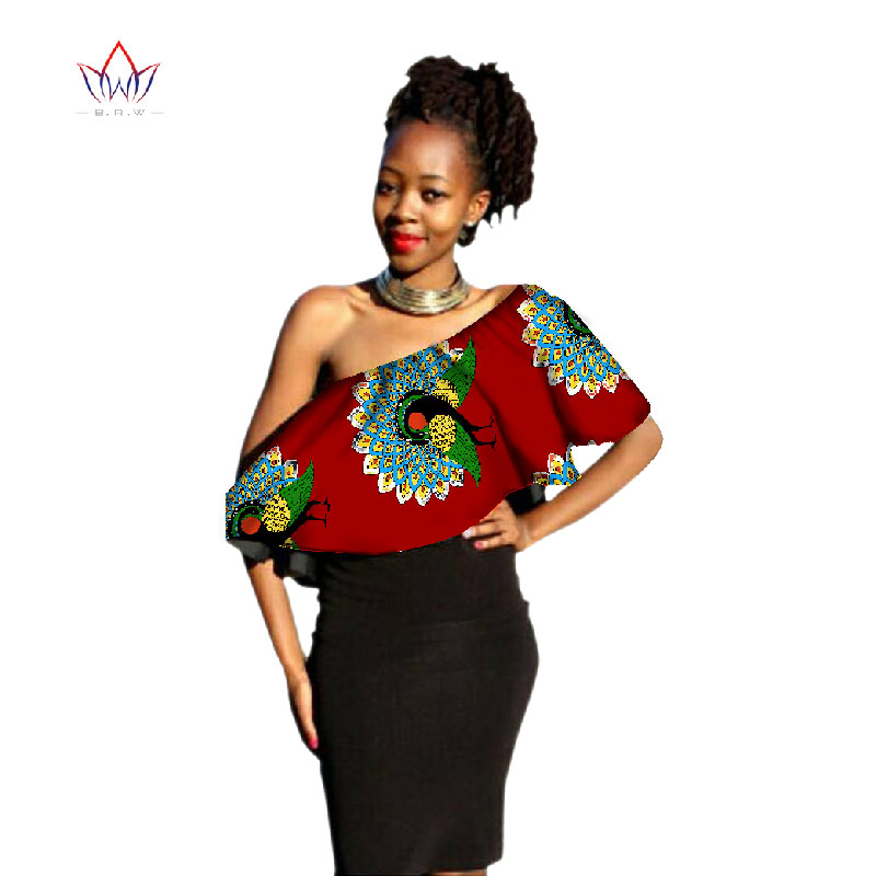 Update your closet and shop our selection of women's African print clothing! Womens African Clothing. African print tops, African print scarves, African print skirts, African print pants and more! Add African fashion to your closet today! Share. Like Tweet Email.