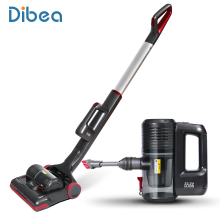 Dibea C01 Cordless Upright Vacuum Cleaner Powerful 2-in-1 Stick and Handheld Vacuum for Carpet Pet Hair with LED Light