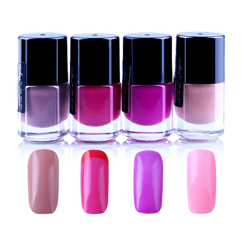 Quick drying Nail Polish Protection Naked Colour System Column Group ...