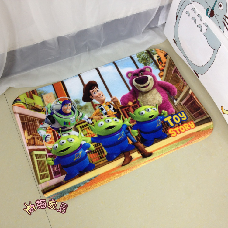 Toy Story New Brand Cartoon Carpets Living Roombedroom Skid Resistance Bathroom Water Fabric Rug Mat B019 In From Home Garden On