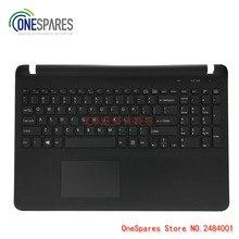 NEW Laptop LCD Palmrest Touchpad Cover For Sony SVF15 FIT15 SVF151 SVF152 SVF153 SVF1541 SVF15E Keyboard with Frame Cov