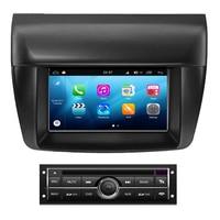 Android 8,0 для Mitsubishi Triton L200 Pajero Sport 2011 2012 2013 2014 Автомобильная dvd навигационная Система Android Авто Радио стерео
